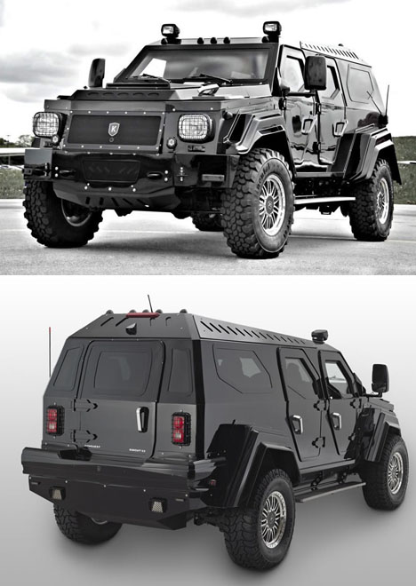 Armored Luxury Suv From Canada Probably Not Going To Win Green