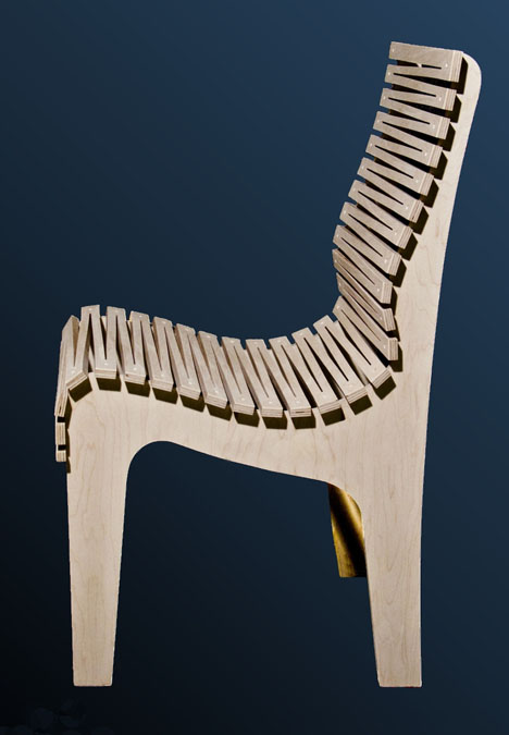 Randy Weersing's Zig Zag Chair: Three Pieces of Plywood ...