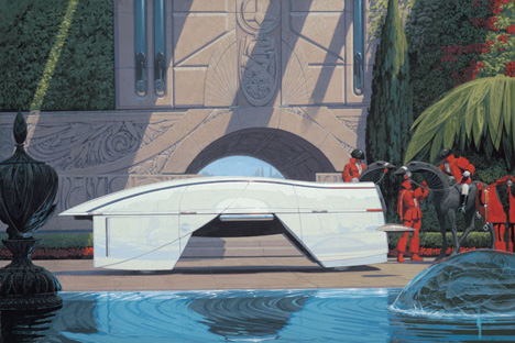 Rare Opportunity To See Syd Mead Paintings In Nyc Core77