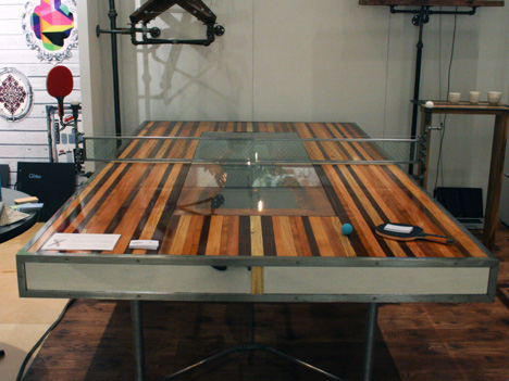 Ny Design Week 2012 A Steampunk Ping Pong Table Amp More By