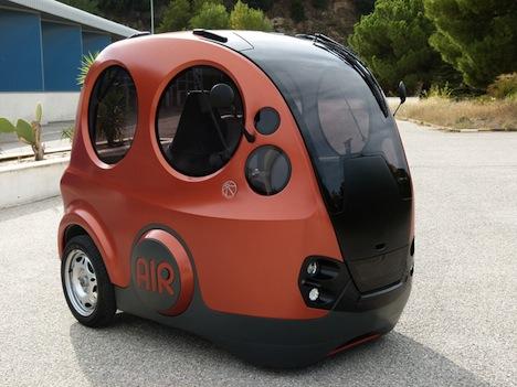 Airpod The Car That Runs On Air Core77