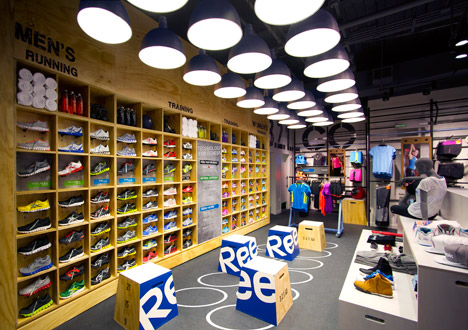 low priced 08367 837bf Reebok called on Ziba to design the retail concept, which allows for  flexible displays and fixtures precisely because much of the furniture and  hardware was ...