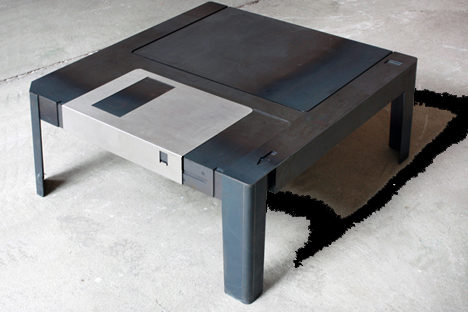 ... Throwback Media Inspired Furniture Is A Rather More Industrial Affair,  Made From Hot Rolled Steel And Stainless Steel. Theyu0027ve Also Cleverly  Reimagined ...