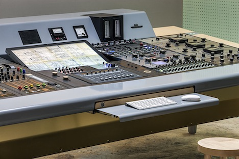 Hybrid Analog-Digital Mixing Console, by UM Project - Core77