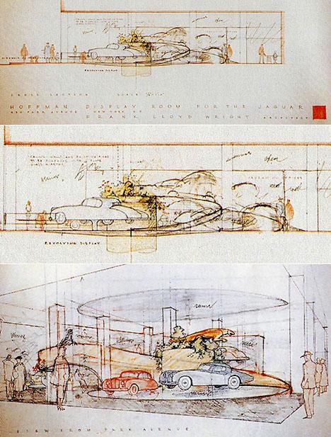 Frank Lloyd Wright S Guggenheim Inspired 1955 Auto