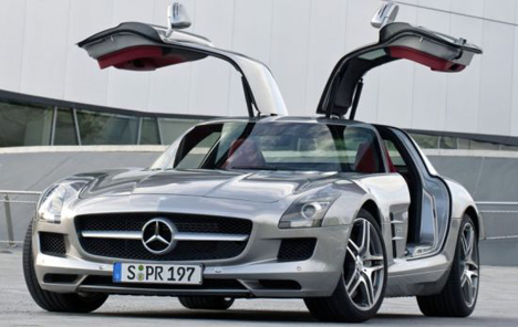 the mercedes 300sl gullwing today core77