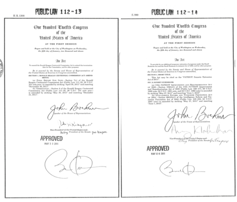 A signature of the times or a tenuous link between barack obama the issue first came up back in june 2011 when cbs published a side by side comparison of the two signatures on an earlier bill for armchair spiritdancerdesigns