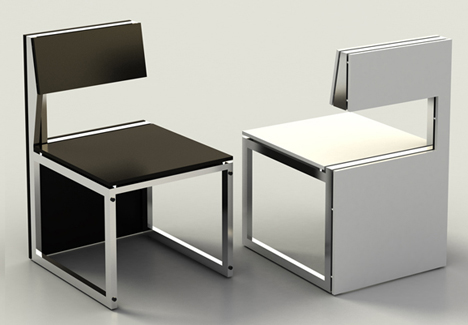 Genial Remember The Wicked Ludovico Office Space Saving Desk And Chair? It Was  Designed By Uruguayan Industrial Designer Claudio Sibille.