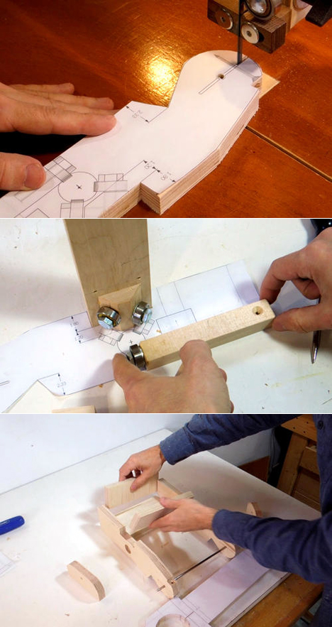 Need To Duplicate A Part In Wood Check Out Matthias Wandel S Diy