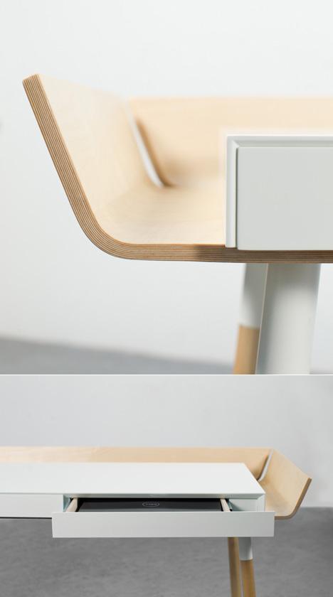 More 'Desks With Gutters': Design Studio Etc Etc 's My