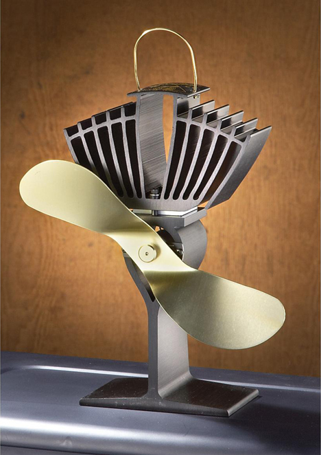 For Woodburning Stove Owners: The Ecofan Requires No Power ...