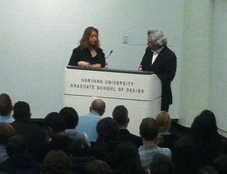 49e31240c96e Zaha Hadid at Harvard GSD