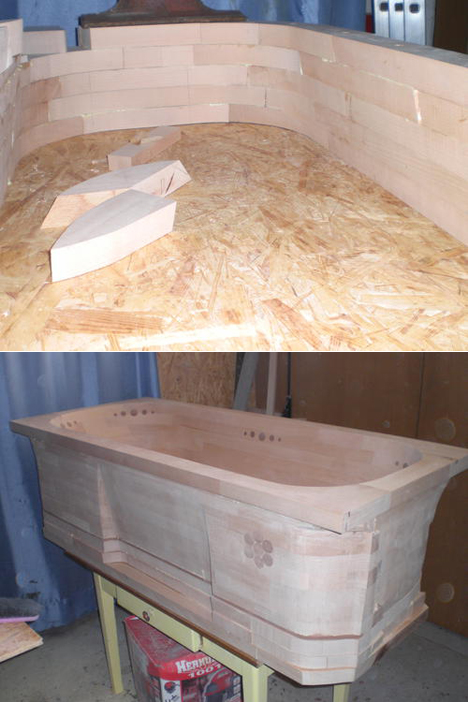 Mitja Narobes Wooden Bathtub Core77
