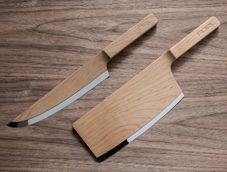 Yea or Nay? FDRL's Wooden Kitchen Knives - Core77