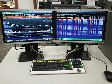For Finance Peeps, Bloomberg Terminals Are Like Potato Chips, In That You  Canu0027t Have Just One. Your Average User Rocks A Two , Four  Or Six Monitor  Set Up.