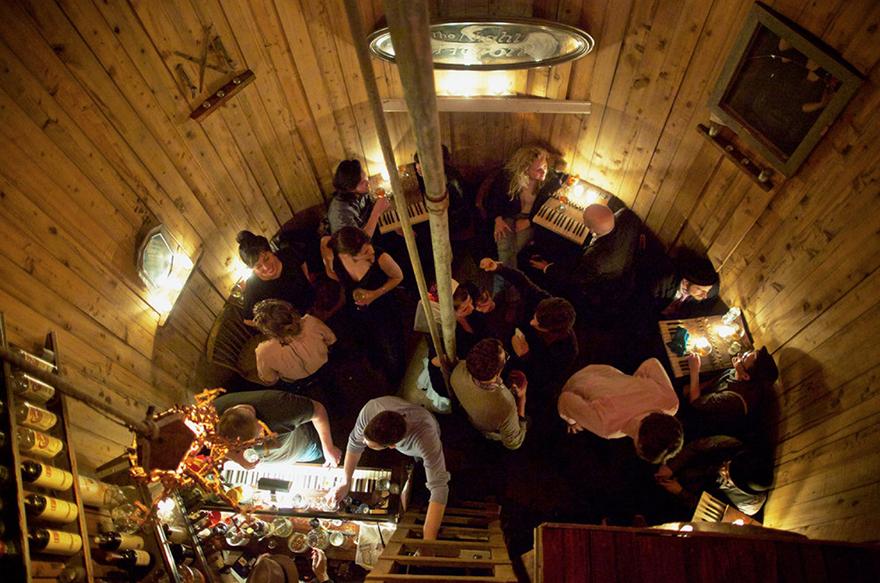 secret spaces  an illegal nyc watertower nightclub