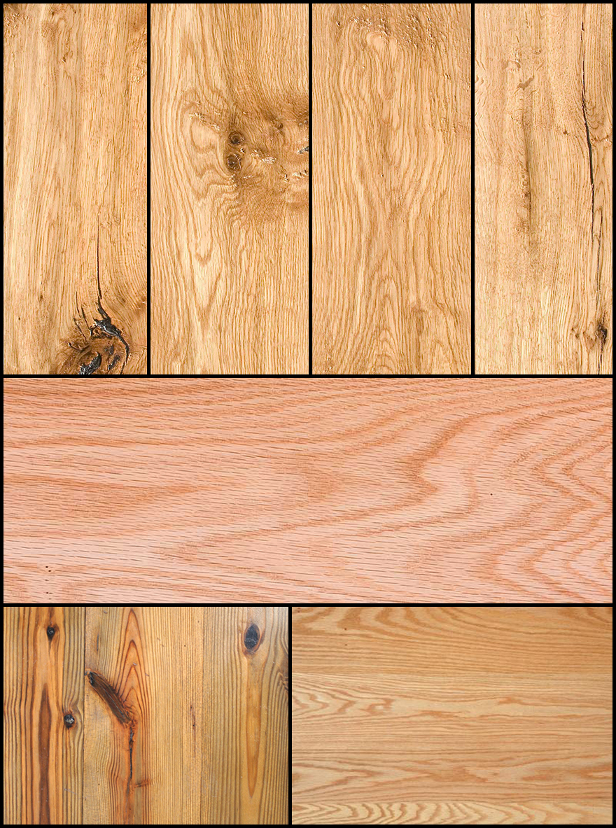 Here Are Some Examples Of Boards Where The Cathedral Does Not Always Come To A Perfect Point But That You Should Still Be Able Identify As Plainsawn Due
