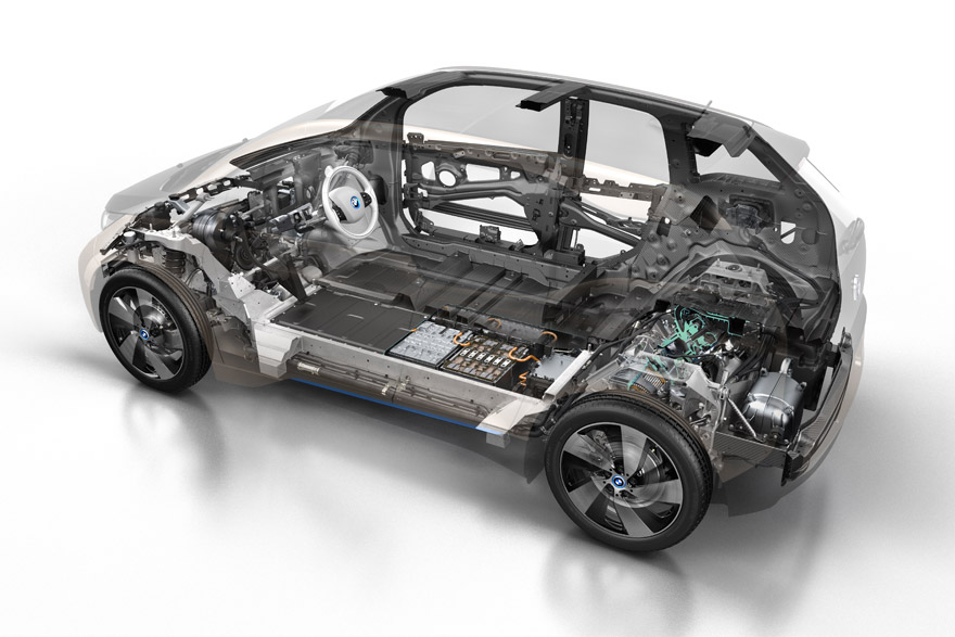Introducing The Bmw I3 Electric Car Head Of Design Adrian Van