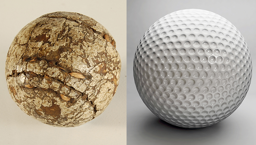 A Brief History of Golf Ball Design, and Why You Shouldn't