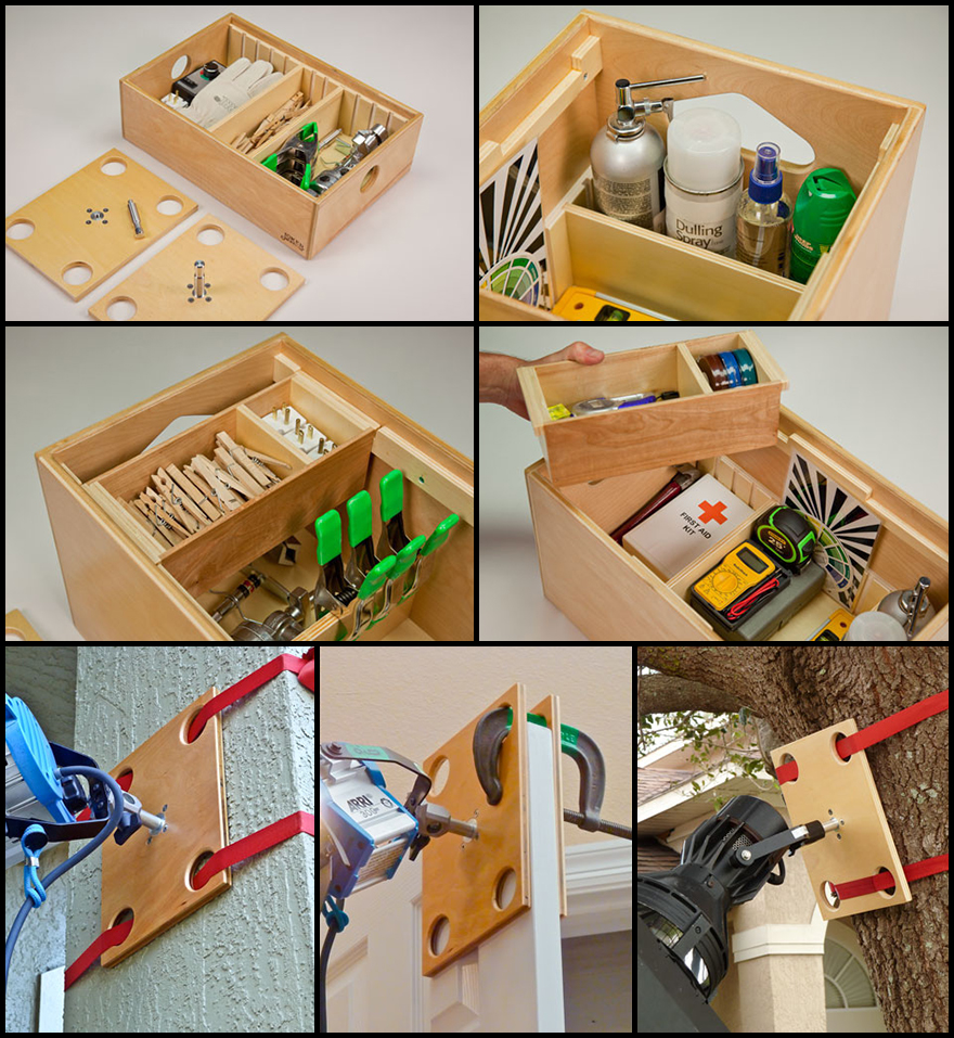 For Key Grips, Some Choice Gear: Ben Meskeru0027s Modular, Portable Jokerbox Storage  System