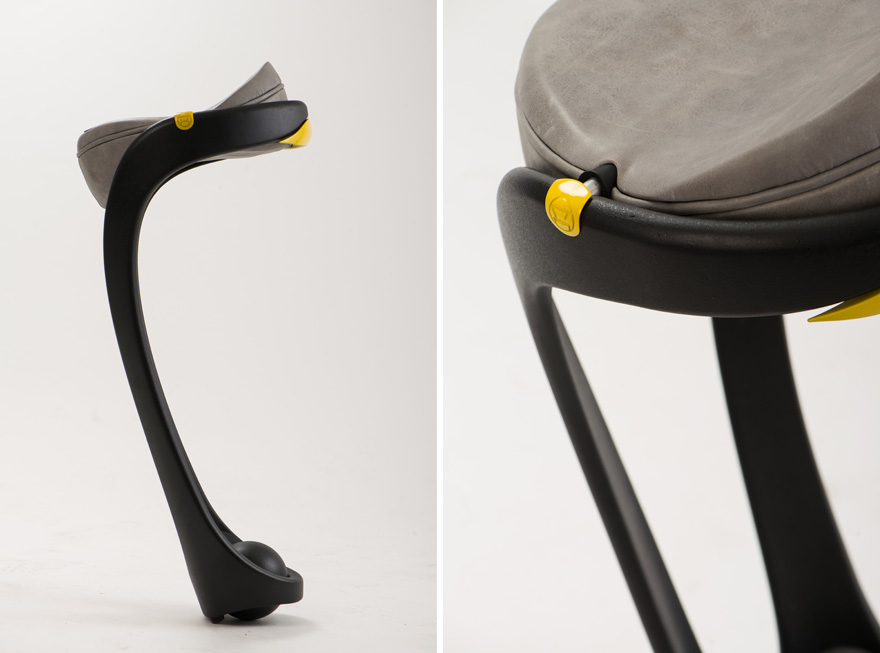 In The Details: The Rotating Saddle Seat Of Dor Ohrensteinu0027s Opus Chair