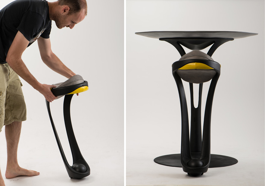 In The Details The Rotating Saddle Seat Of Dor Ohrenstein