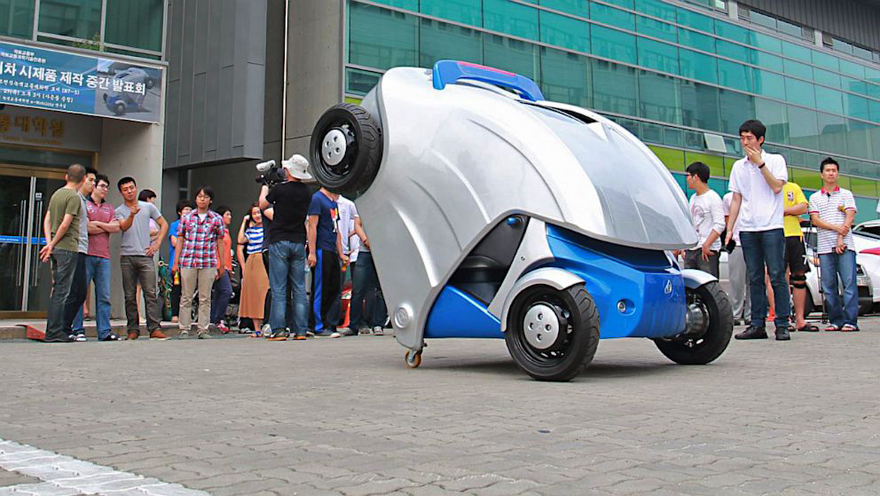 43f5ef60264372 Korea Advanced Institute of Science and Technology (KAIST) recently  unveiled a new concept car to add to the plethora of electric and space  efficient ...