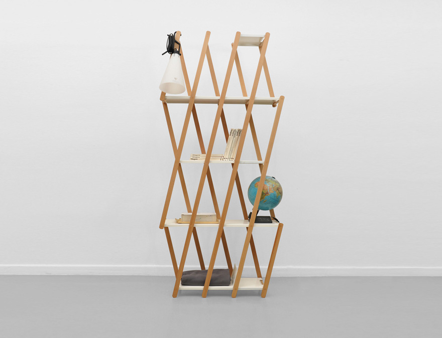 Trendlet Collapsible Creations From An Accordion Bookshelf To A Pair Of Folding Bike Helmets