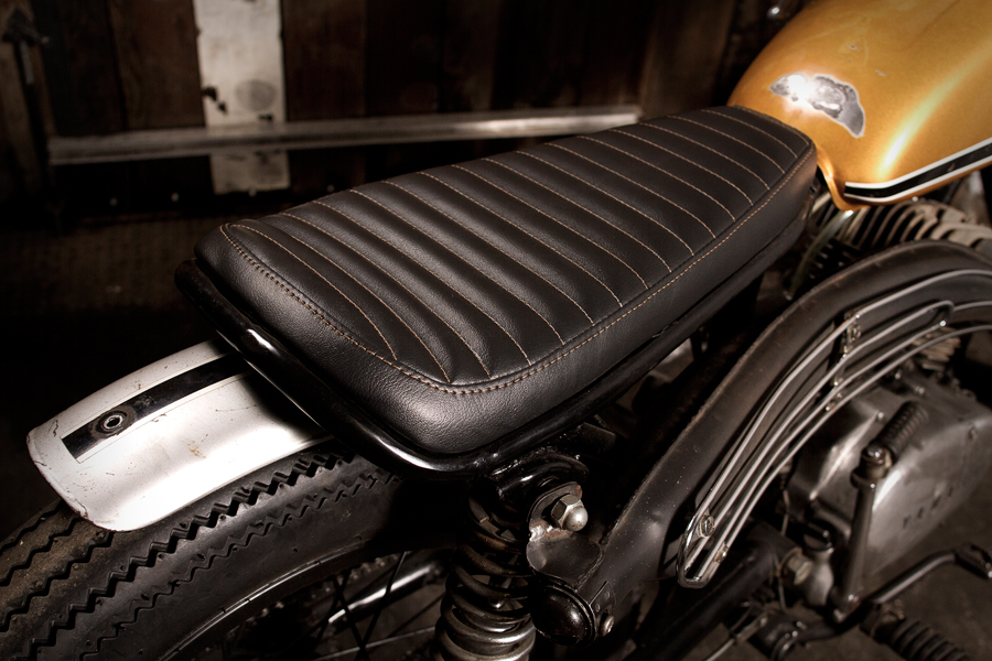 Tonight At The Hand Eye Supply Curiosity Club Motorcycle Seat