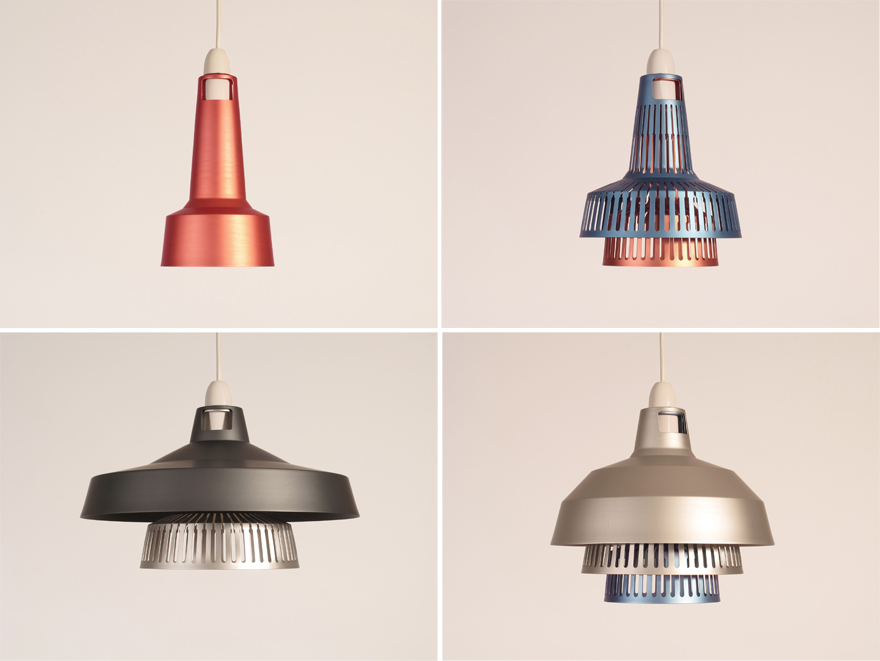 In the Details The Stacking Aluminum Shades of Internationalu0027s Apollo Lighting System & In the Details: The Stacking Aluminum Shades of Internationalu0027s ...