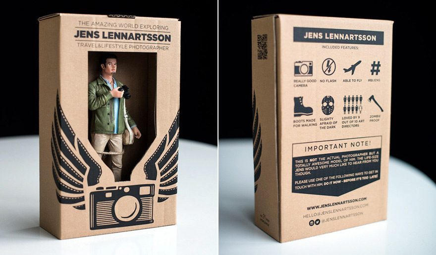 forget resumes jens lennartsson sends action figures of himself to