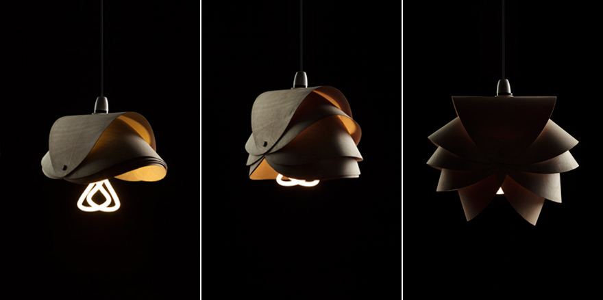Students Doing Awesome Things Check Out These Lamp Shade Designs For The Plumen 001 Bulb From Middle University