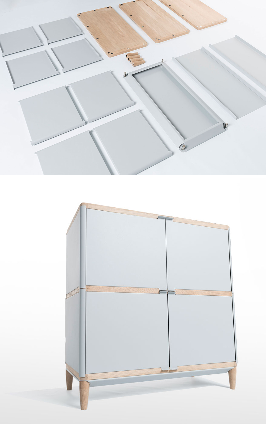simple kitchen cabinets pictures benjamin vermeulen s flatpack magnetic assisted geometry 26137