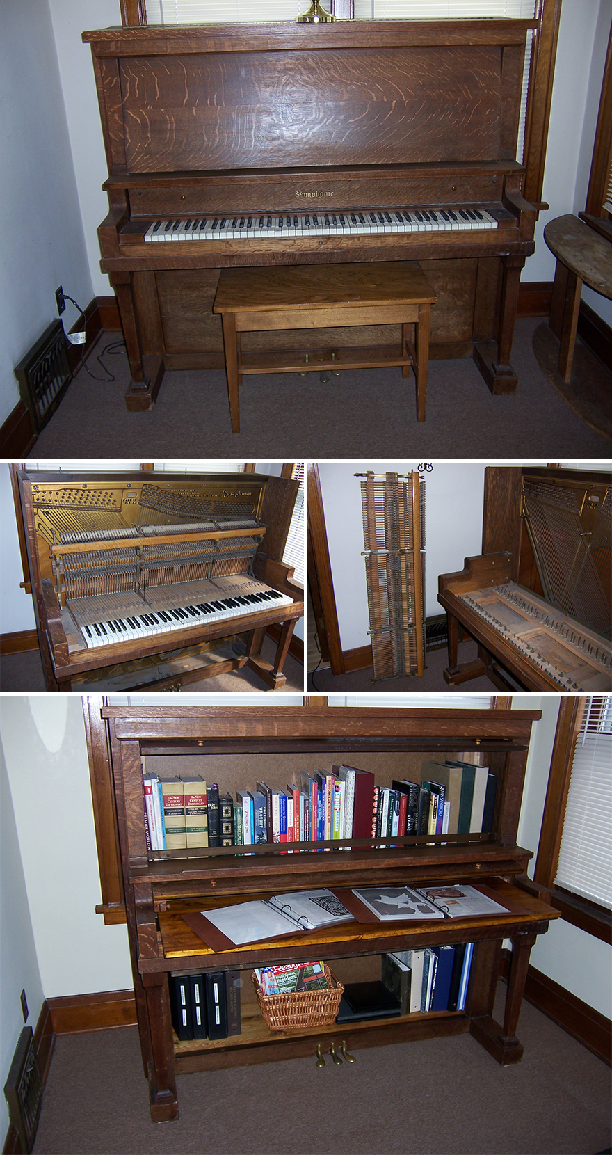 Etsy Beethoven Cabinetry Makes And S Piano Bookshelves Out Of Indiana
