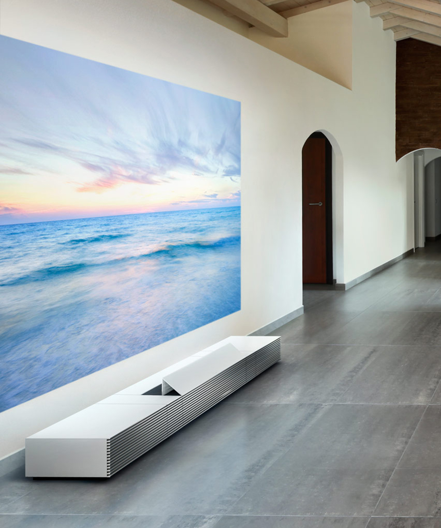 Sony S Gorgeous Floor Borne Short Throw Projector