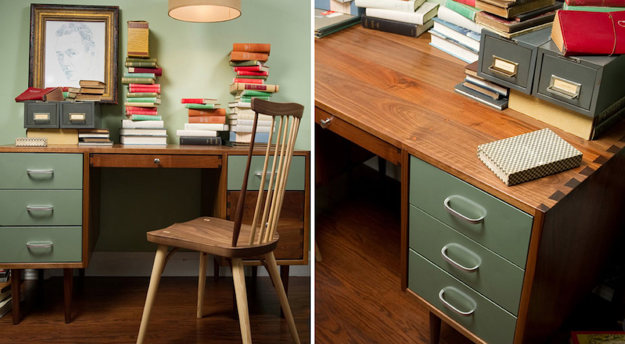 Charmant Design For Small Spaces: Desks With Storage