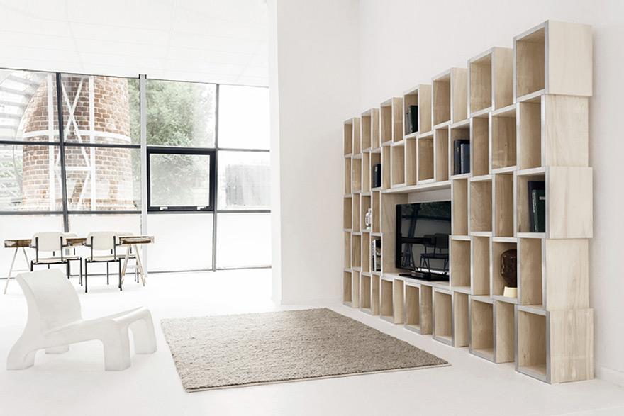 Reinier de Jong\'s MODULAR Shelves - Core77