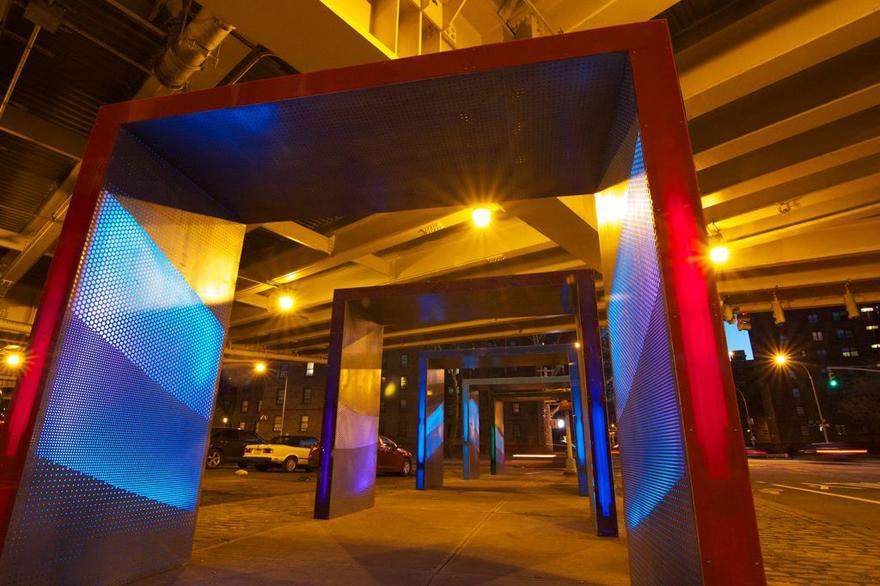 Urban Matter's 'Silent Lights' Turns New York City Traffic