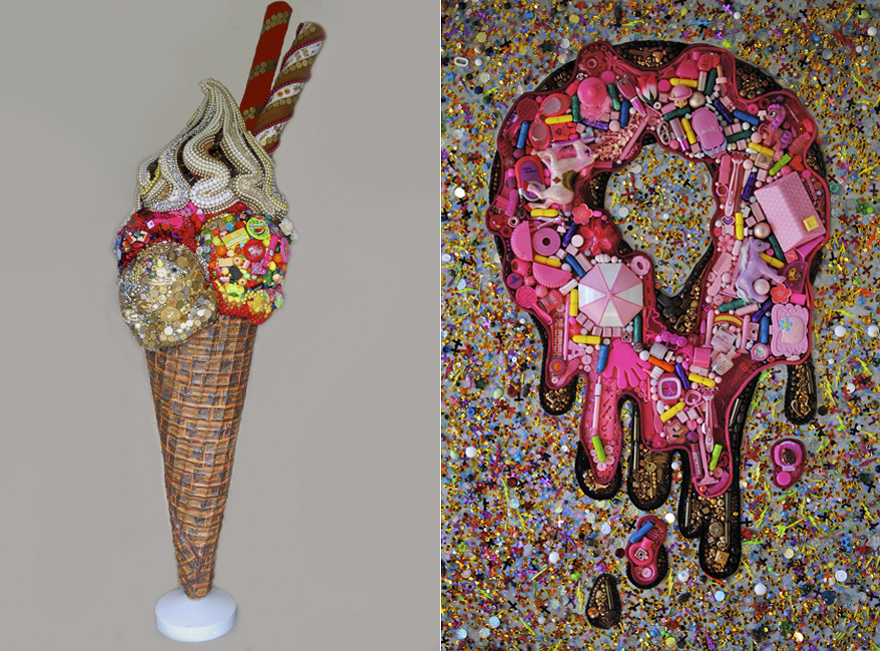 Elisa Insua S Assemblage Mosaics Turn Everyday Junk Into