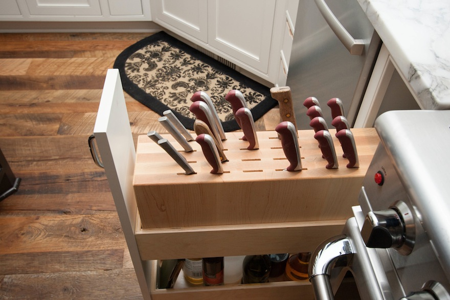 Designing for Knife Storage, Part 2: Beyond Knife Blocks and ... on kitchen knife storage solutions, kitchen knife drawer insert, kitchen knife block, kitchen knife 3d model, kitchen knife organizer, diy kitchen knife storage, kitchen storage knives, kitchen knife holder, cork knife storage,