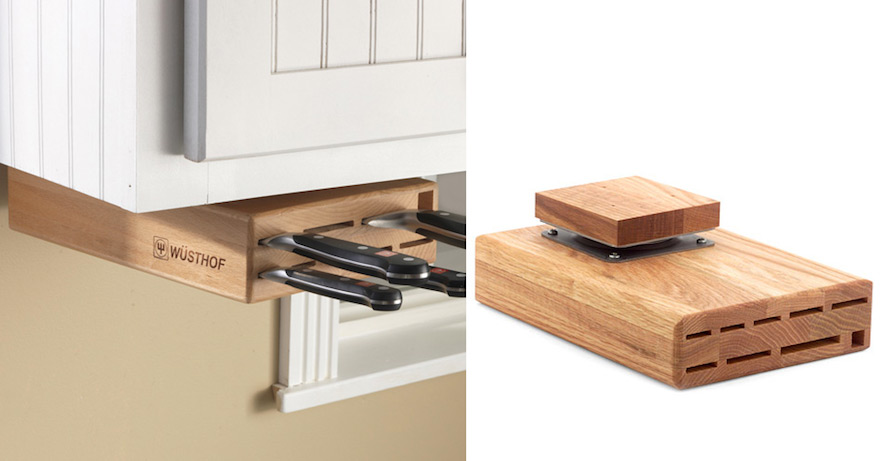 Designing For Knife Storage, Part 2: Beyond Knife Blocks And Wall Racks    Core77