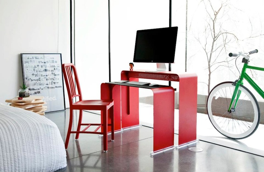 Designing For Cutting Cable Clutter Part 2 Desks With Built In Solutions