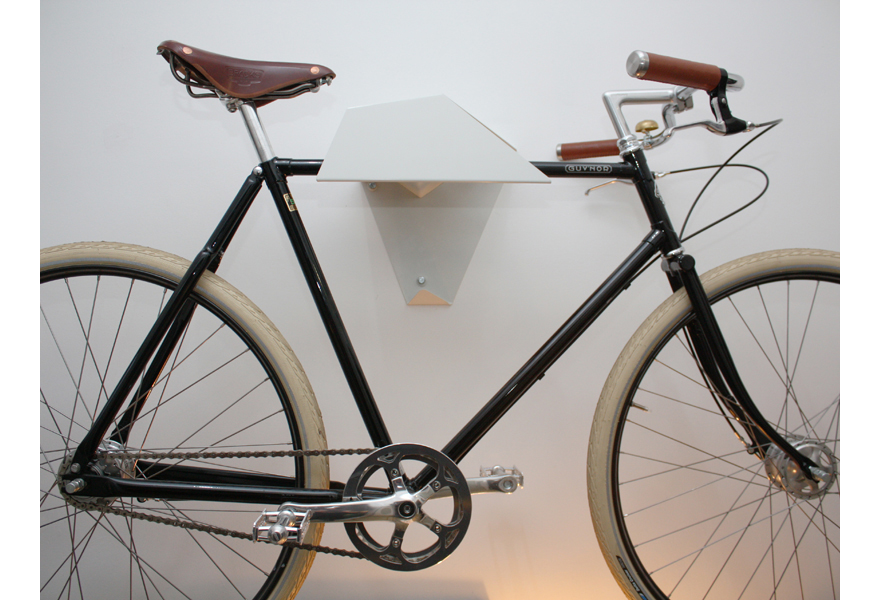 Designing For Bikes Stored On Walls   Core77