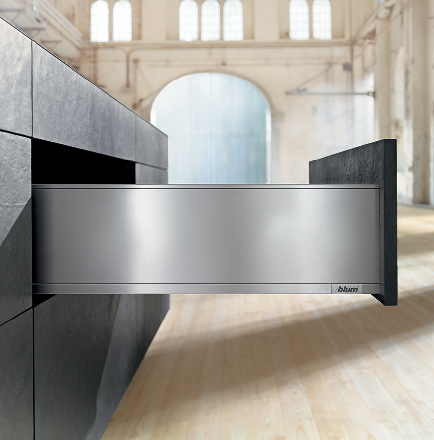 The Legrabox: Blum's Sexy Drawer System With Invisible