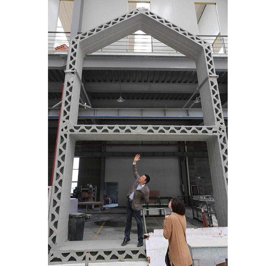 China On The Forefront Of 3D-Printed Housing