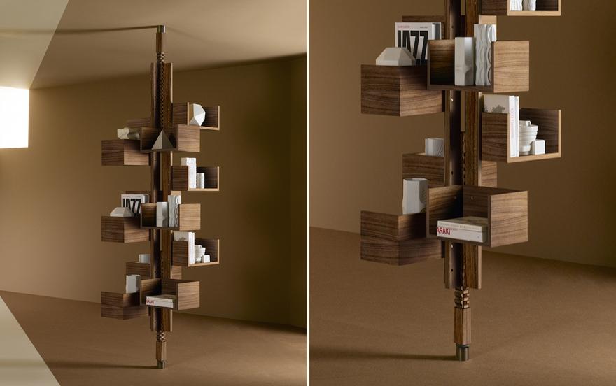 Poltrona Frau Albero.Poltrona Frau Recreates The Iconic Albero Bookcase For A