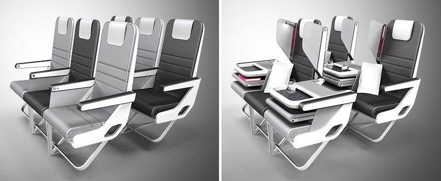 Paperclip Design Ltd S Airplane Interior Design