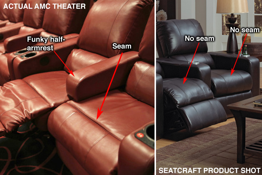Movie Theater Seats Moving in the Opposite Design Direction