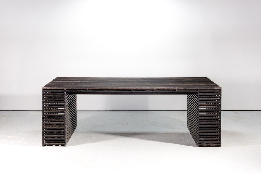 in the details ian stell s pantograph inspired pivoting tables core77
