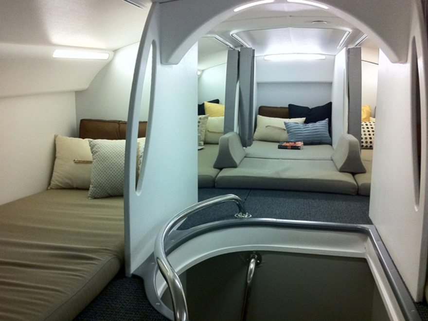 The Part Of The Plane You Never Get To See What Do Cabin